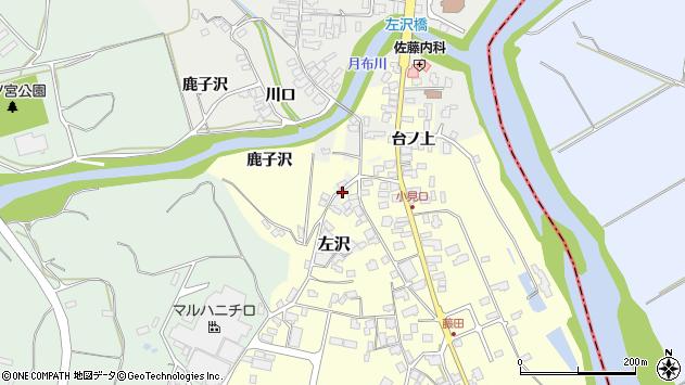 山形県西村山郡大江町藤田1684周辺の地図
