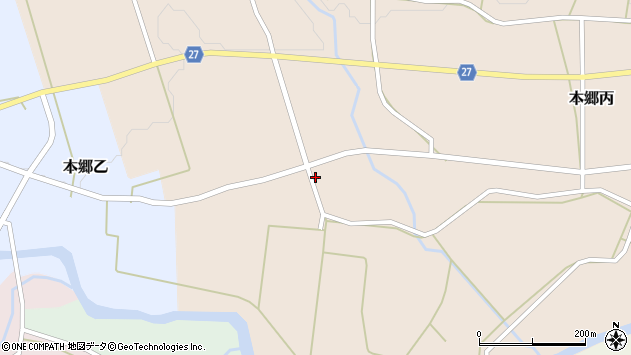 山形県西村山郡大江町本郷丙638周辺の地図