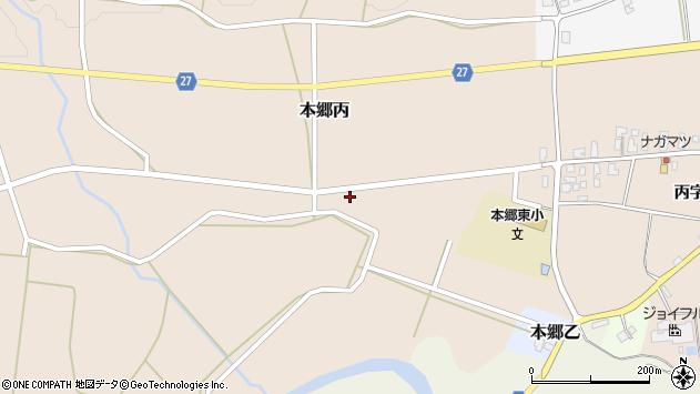 山形県西村山郡大江町本郷丙177周辺の地図
