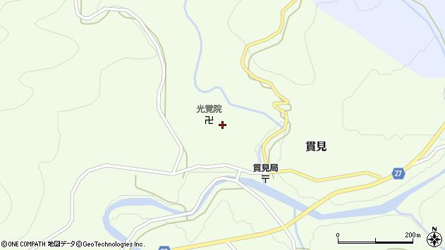 山形県西村山郡大江町貫見156周辺の地図