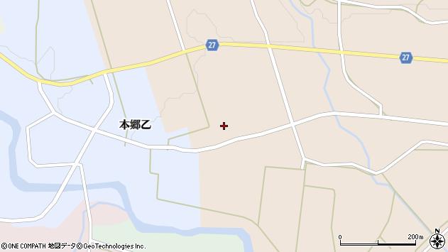 山形県西村山郡大江町本郷丙633周辺の地図