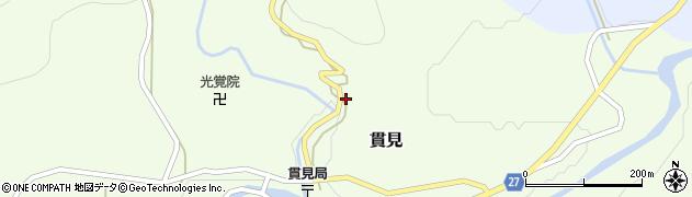 山形県西村山郡大江町貫見5周辺の地図
