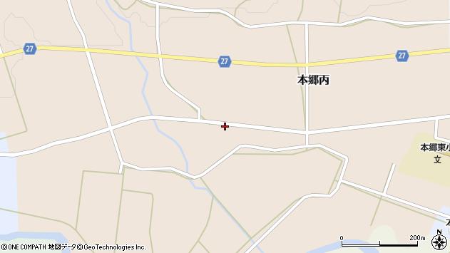 山形県西村山郡大江町本郷丙104周辺の地図