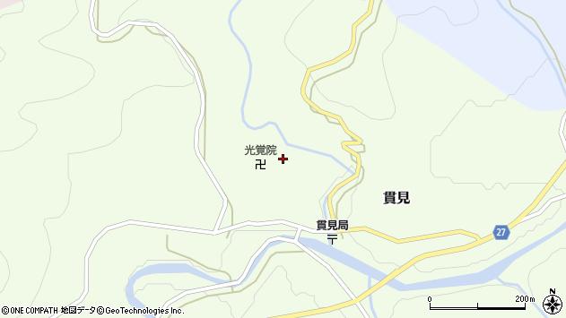山形県西村山郡大江町貫見158周辺の地図