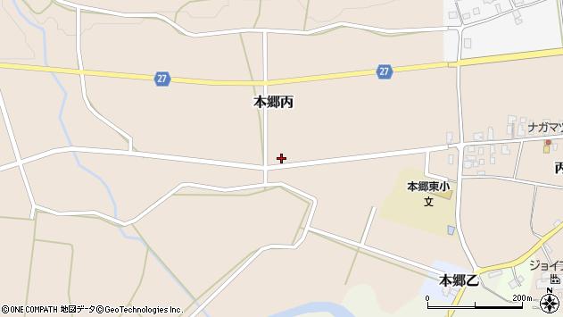 山形県西村山郡大江町本郷丙174周辺の地図