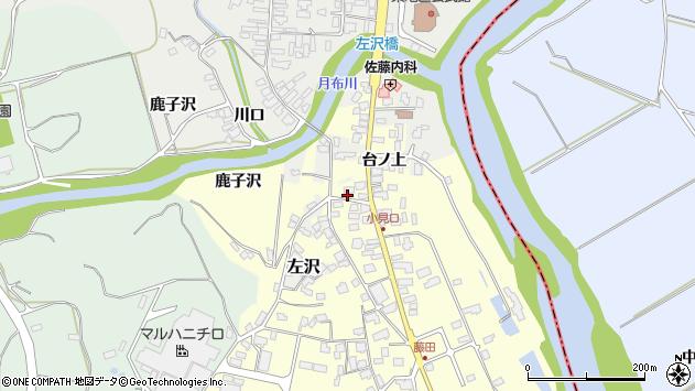 山形県西村山郡大江町藤田18周辺の地図