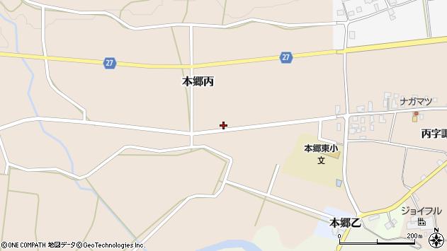 山形県西村山郡大江町本郷丙179周辺の地図