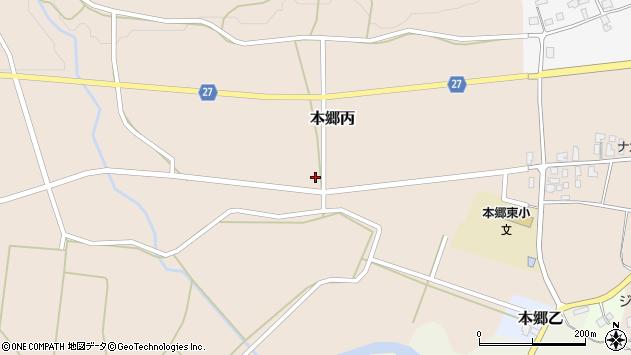山形県西村山郡大江町本郷丙138周辺の地図