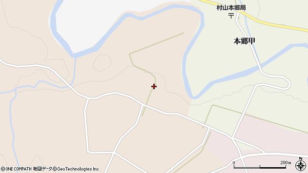 山形県西村山郡大江町本郷甲164周辺の地図