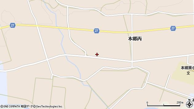 山形県西村山郡大江町本郷丙670周辺の地図