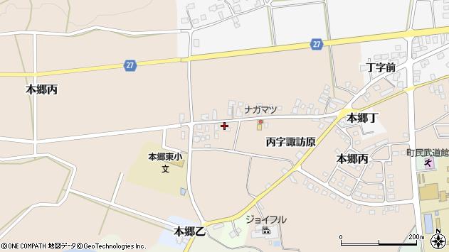 山形県西村山郡大江町本郷丙236周辺の地図