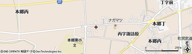 山形県西村山郡大江町本郷丙240周辺の地図