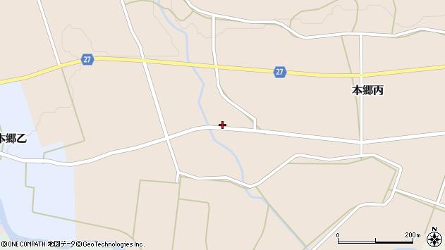 山形県西村山郡大江町本郷丙865周辺の地図