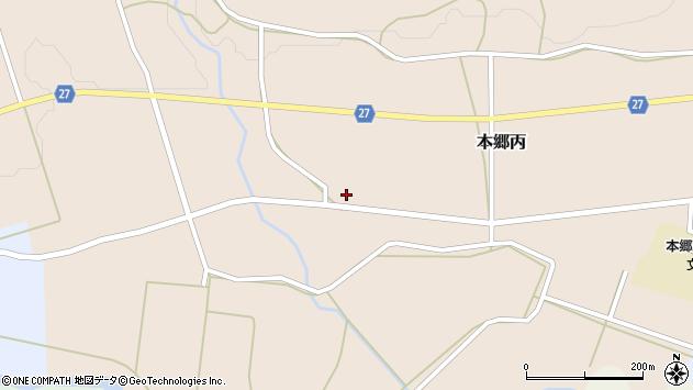 山形県西村山郡大江町本郷丙100周辺の地図