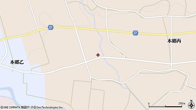 山形県西村山郡大江町本郷丙647周辺の地図