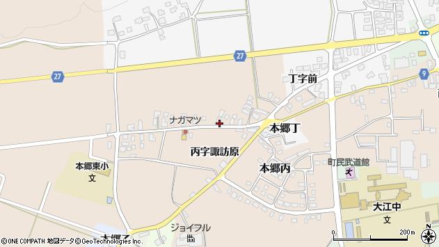 山形県西村山郡大江町本郷丙247周辺の地図