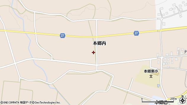 山形県西村山郡大江町本郷丙141周辺の地図