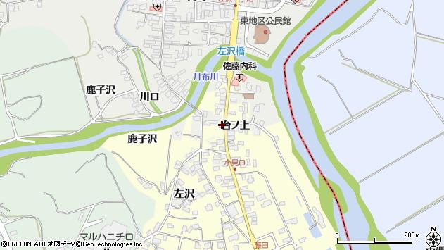 山形県西村山郡大江町藤田14周辺の地図