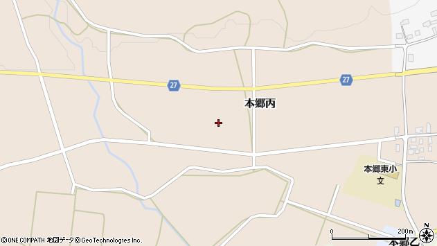 山形県西村山郡大江町本郷丙望山周辺の地図