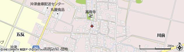 山形県寒河江市日田539周辺の地図