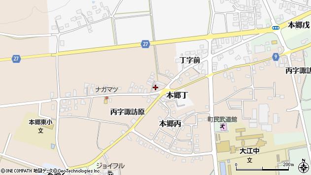 山形県西村山郡大江町本郷丙1664周辺の地図