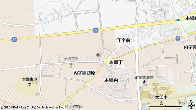 山形県西村山郡大江町本郷丙1659周辺の地図