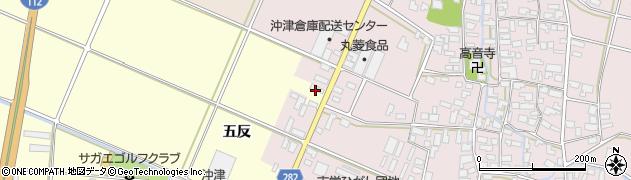 山形県寒河江市寒河江五反51周辺の地図
