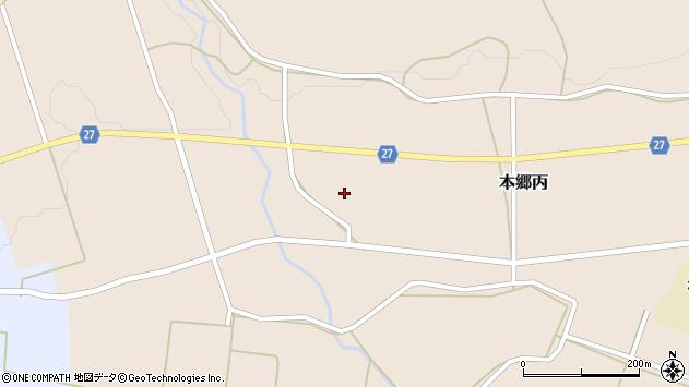 山形県西村山郡大江町本郷丙1446周辺の地図
