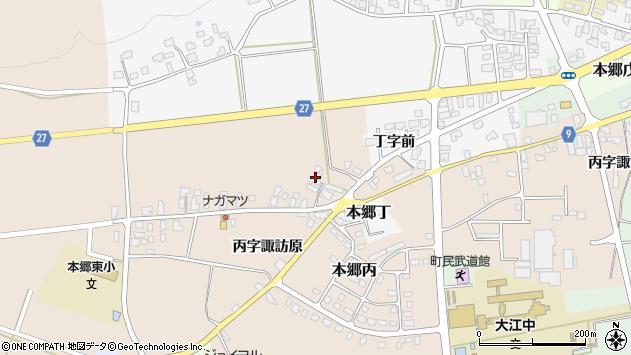 山形県西村山郡大江町本郷丙1661周辺の地図