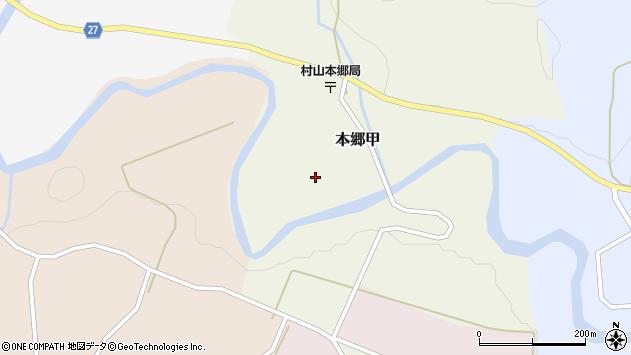 山形県西村山郡大江町本郷甲156周辺の地図