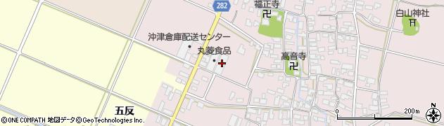 山形県寒河江市日田弓貝59周辺の地図