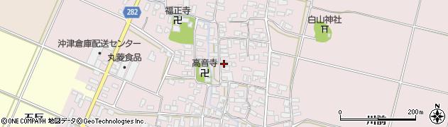 山形県寒河江市日田375周辺の地図