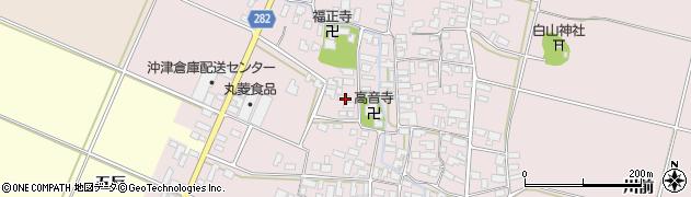 山形県寒河江市日田512周辺の地図