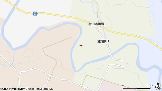 山形県西村山郡大江町本郷甲153周辺の地図