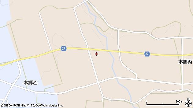 山形県西村山郡大江町本郷丙1338周辺の地図