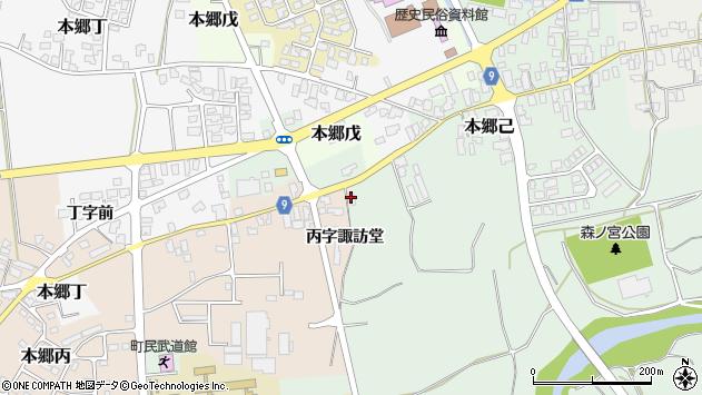 山形県西村山郡大江町本郷己157周辺の地図