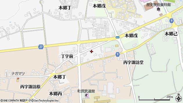 山形県西村山郡大江町本郷丁31周辺の地図