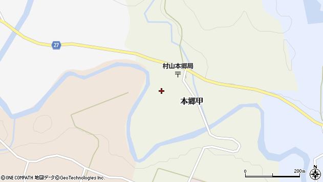 山形県西村山郡大江町本郷甲148周辺の地図