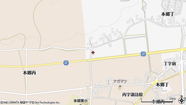 山形県西村山郡大江町本郷丁549周辺の地図