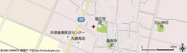 山形県寒河江市日田505周辺の地図