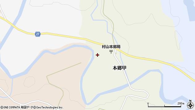 山形県西村山郡大江町本郷甲147周辺の地図