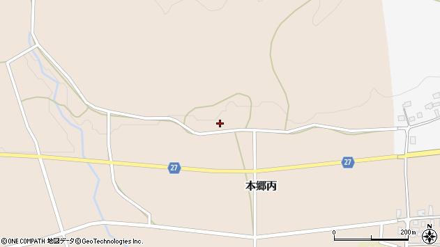 山形県西村山郡大江町本郷丙38周辺の地図