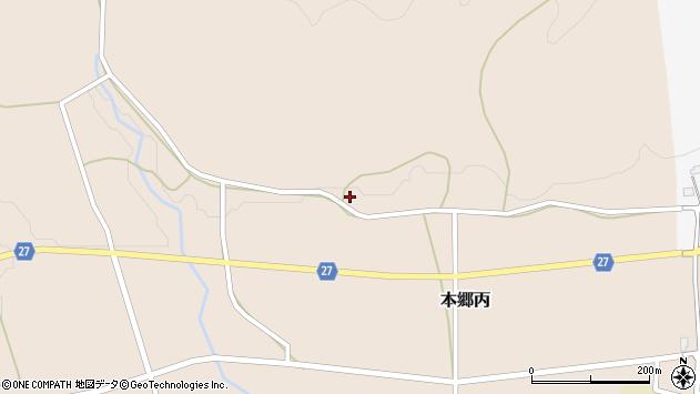 山形県西村山郡大江町本郷丙51周辺の地図