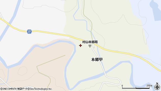山形県西村山郡大江町本郷甲146周辺の地図