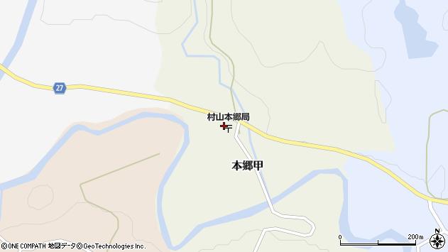 山形県西村山郡大江町本郷甲171周辺の地図