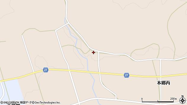 山形県西村山郡大江町本郷丙60周辺の地図