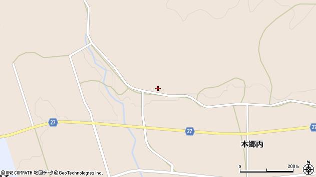 山形県西村山郡大江町本郷丙57周辺の地図