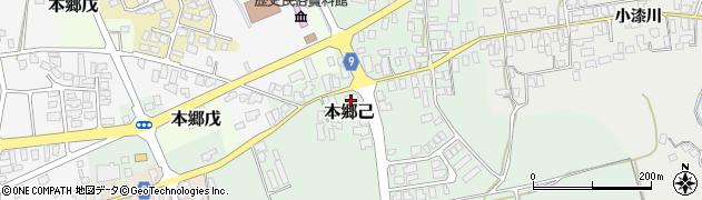 山形県西村山郡大江町本郷己95周辺の地図