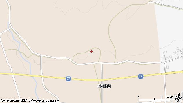 山形県西村山郡大江町本郷丙34周辺の地図