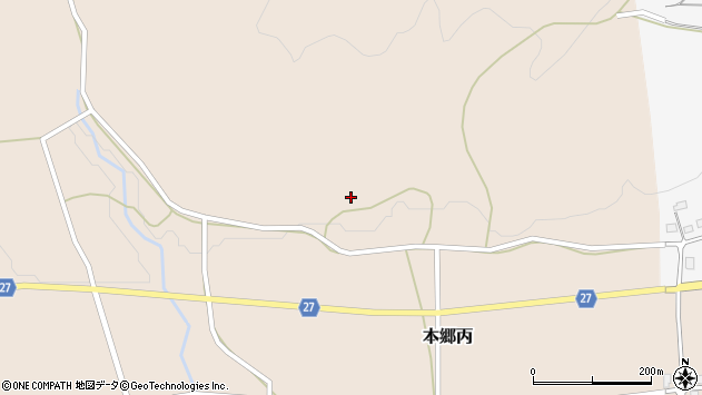 山形県西村山郡大江町本郷丙48周辺の地図